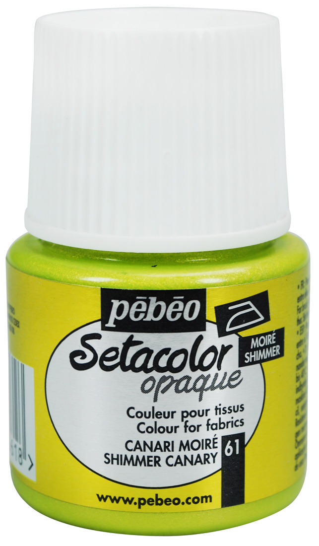 Setacolor Shimmer canary