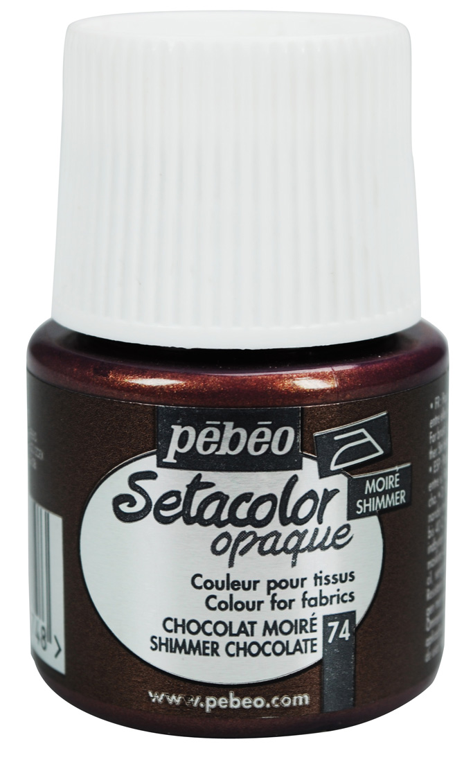 Setacolor Shimmer chocolate